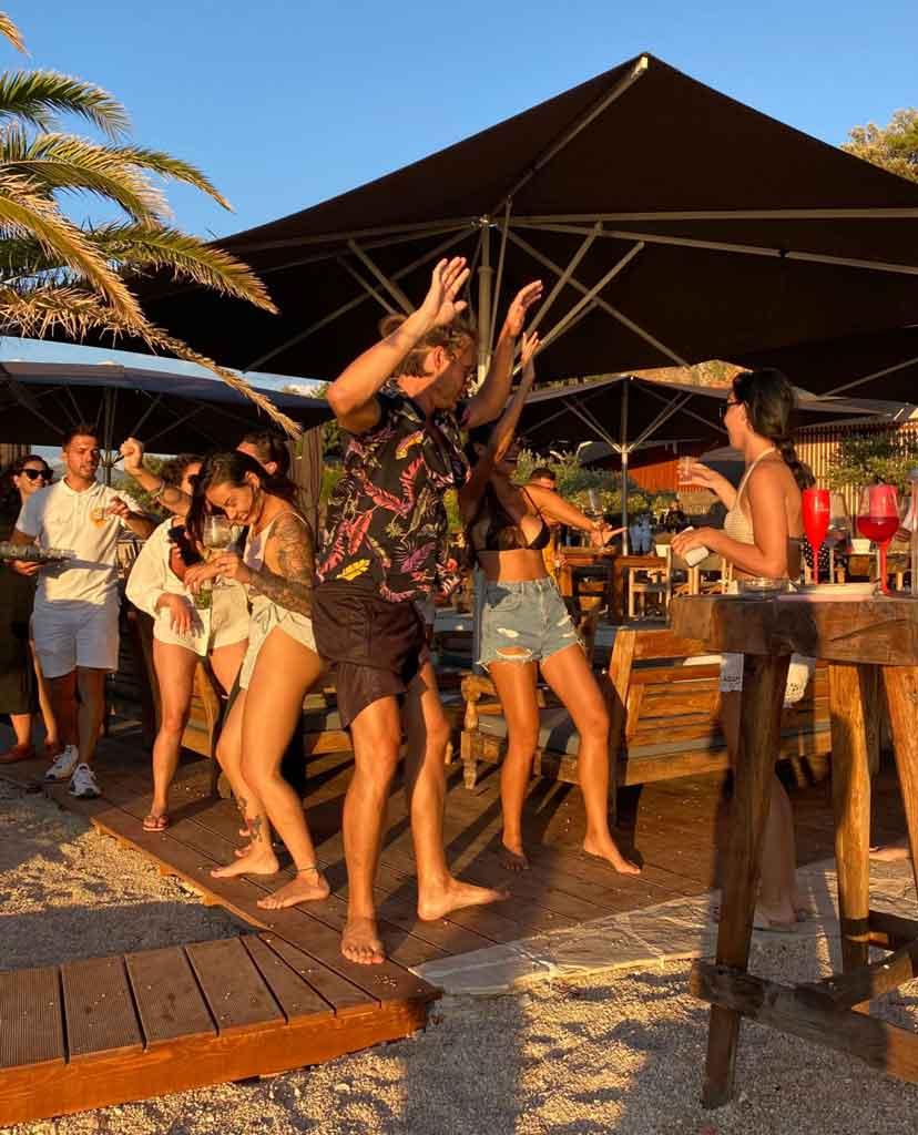Coral Beach Sundown Party