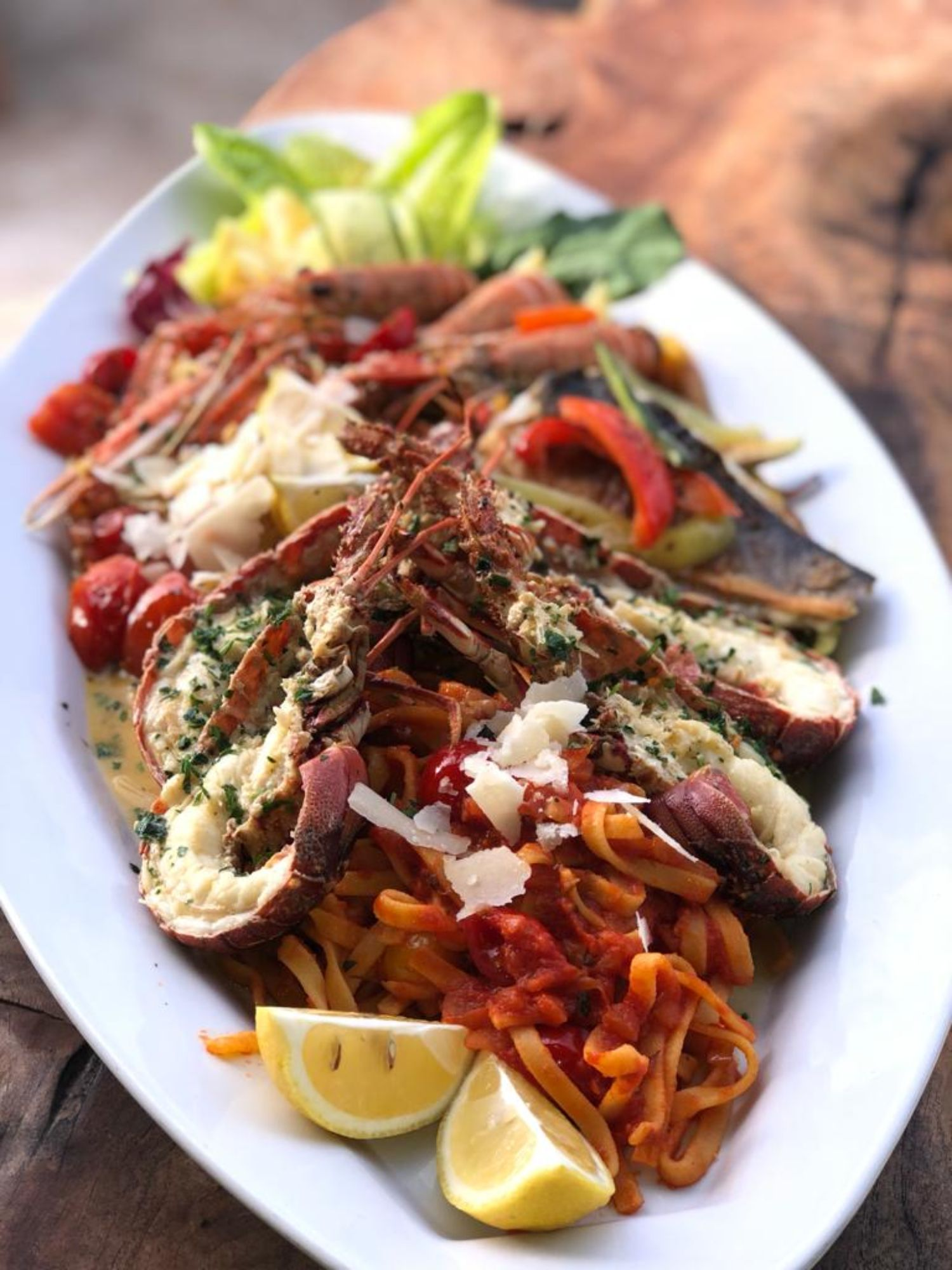 Coral Beach Sundown Dinner Plate